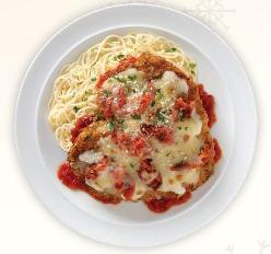 Primo Chicken Parmesan at Romano's Macaroni Grill