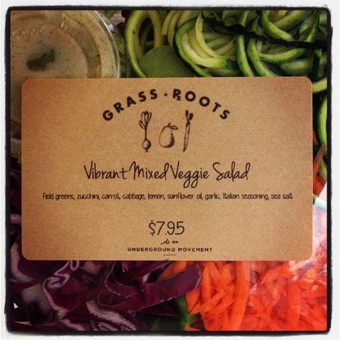 Vibrant Mixed Veggie Salad at Grassrxoots