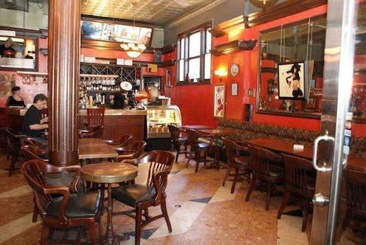 Interior at Cafe CiBon