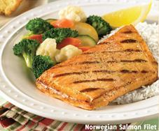 New Norwegian Salmon Filet at Carrows
