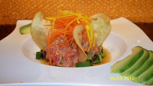 Toro Tartar at Arisu Japanese Cuisine