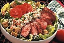 Photo of Black & Bleu Caesar Salad
