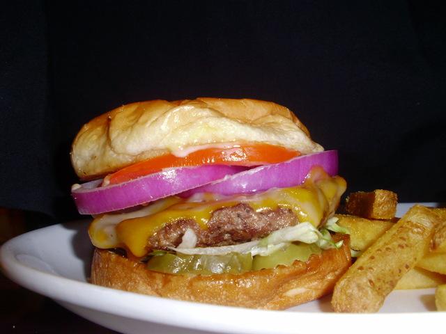 Fender's Best Burger at Fender's Roadhouse of Joplin