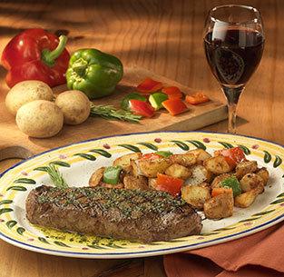 Steak Toscano at Olive Garden