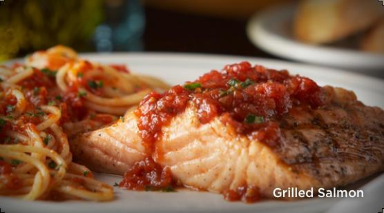 Grilled Salmon at Carrabba's