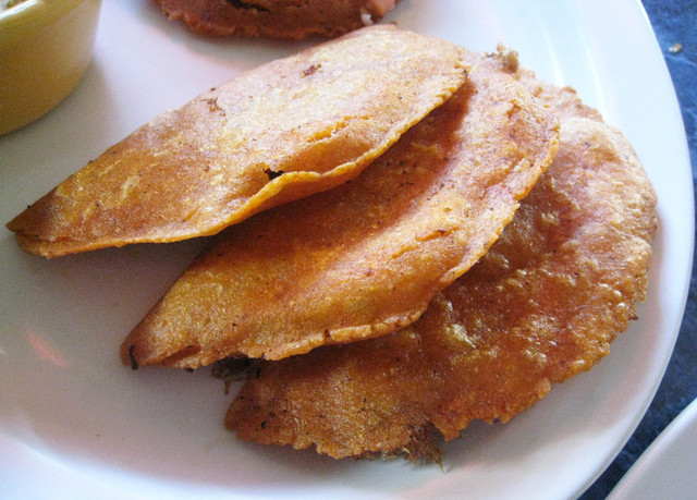 Panades at Little Belize