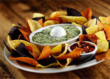 CANADIAN CHEESE SPINACH DIP at Bugaboo Creek Steak House