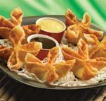 CREAM CHEESE WONTONS at Pick Up Stix