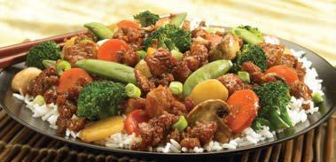CHICKEN & VEGETABLES at Pick Up Stix