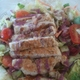 Blueberry Vinaigrette for the win! - Salad with Turkey Breast at PDQ Fresh Food Fast