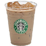 Iced Caramel Macchiato at Starbucks Coffee
