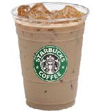 Iced Caramel Macchiato at Starbucks Coffee