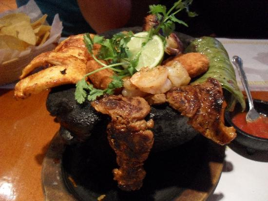 Molcajete at San Lucas Mexican Restaurant