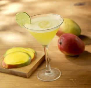 Mango Martini at Isaac's Restaurant & Deli