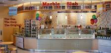Interior at Marble Slab Creamery