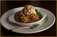 Amaretto Apple Crispetti at Romano's Macaroni Grill