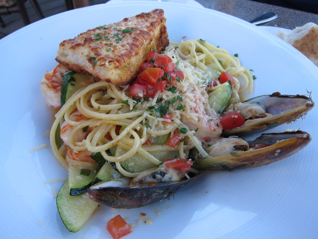 Seafood Linguine at Parkers' Lighthouse