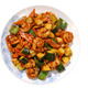 Spicy - Kung Pao Prawns at Shanghai Restaurant