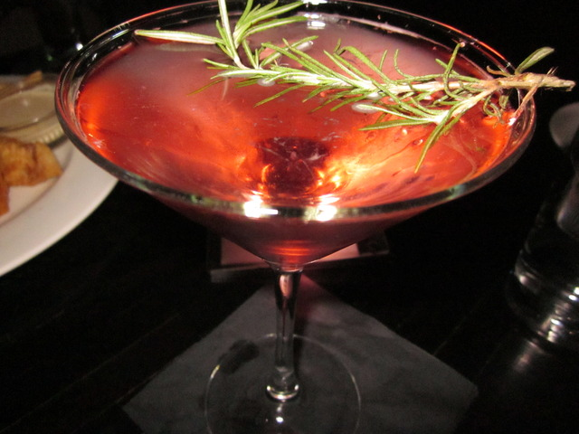 Roseberry Martini at Devon Seafood + Steak