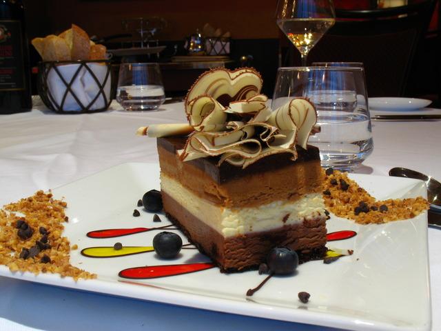 Vetro Restaurant & Lounge Opera Trio Dessert - Dish at Vetro by Russo's on the Bay