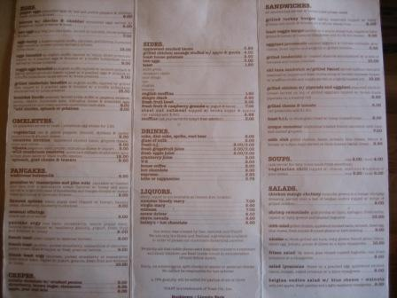 Restaurant Menu at Toast
