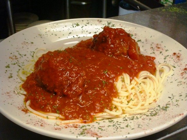 Photo of SPAGHETTI AND MEATBALLS