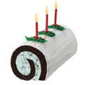 Yule Log Roll Cake at Dunkin' Donuts/Baskin Robbins