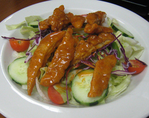 Buffalo Chicken Salad at Toula's House of Pizza