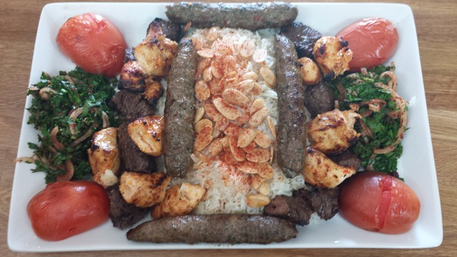 Kebab Mix at Aleppo's Kitchen