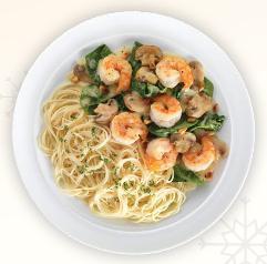Shrimp Portofino at Romano's Macaroni Grill