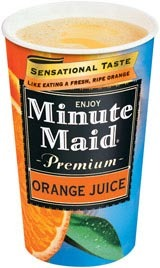Orange Juice at Carl's Jr.
