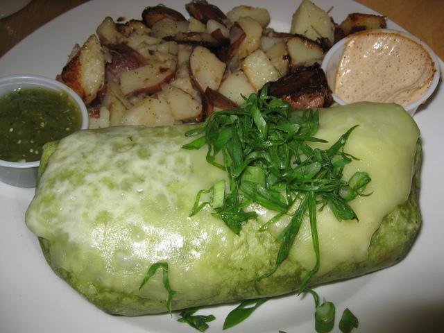 Photo of Black Bean and Sweet Potato Burrito