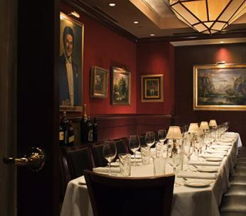 Interior at Capital Grille