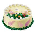 Happy Easter Cake at Dunkin' Donuts/Baskin Robbins