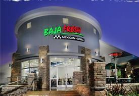 Exterior at Baja Fresh Mexican Grill