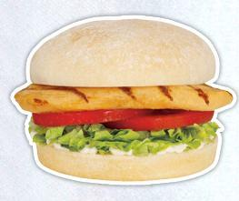 Grilled Chicken Sandwich at Sonic