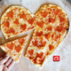 Heart Shaped Pepperoni Pizza - Heart Shaped Pepperoni Pizza at Antonios Pizza & Italian Restaurant