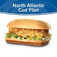 North Atlantic Cod Filet at Culver's