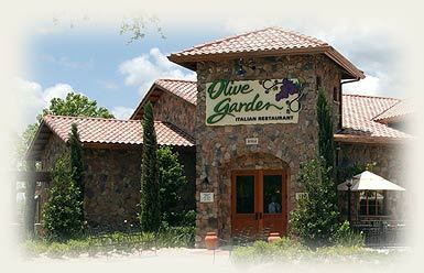 Exterior at Olive Garden
