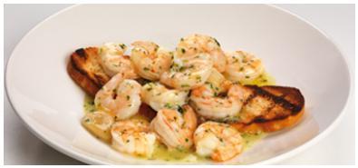 Shrimp Scampi Appetizer at Bertucci's Brick Oven Pizzeria