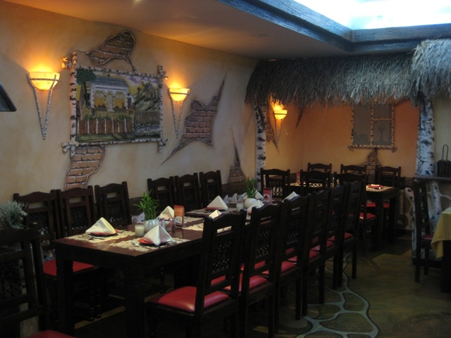 Interior at Saghi Restaurant Cabaret