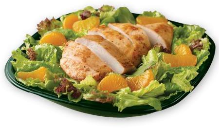 Mandarin Chicken Salad at Wendy's