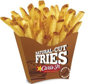 Natural Cut French Fries - Medium at Carl's Jr.