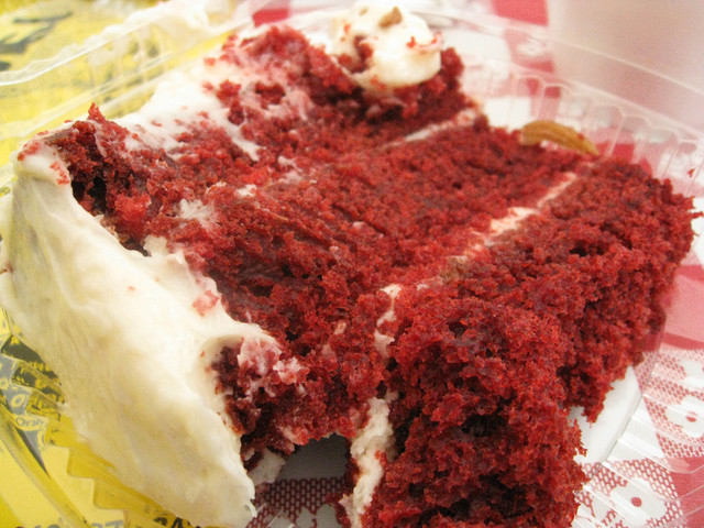 Red Velvet Cake at Bludso's BBQ