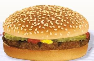 Hamburger at Taxi's Hamburgers