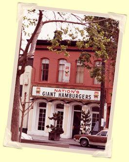 Exterior at Nation's Giant Hamburgers