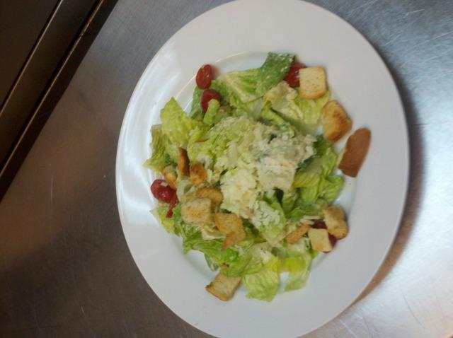 Classic Ceasar Salad at Bernardin's Restaurant