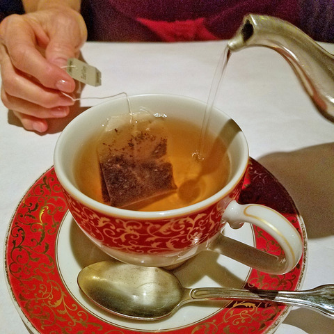 Tea at Sesame Grill