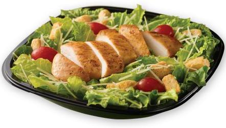 Chicken Caesar Salad at Wendy's