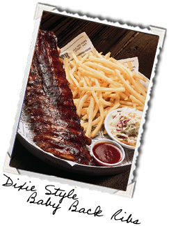 Photo of Dixie Style Baby Back Ribs